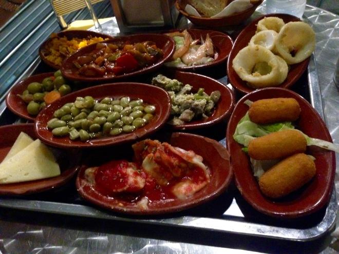 Tapas! in Granada