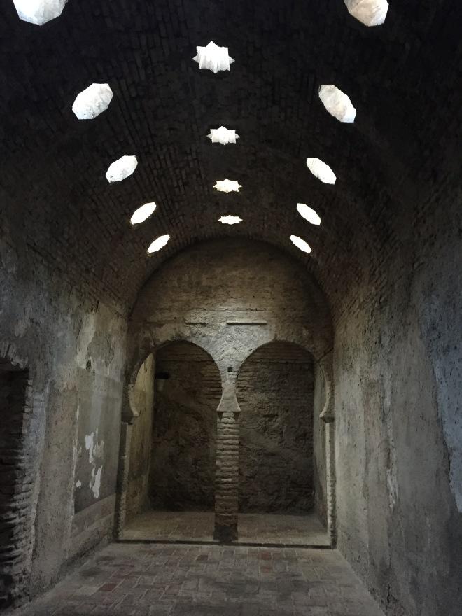Arabian baths in Granada