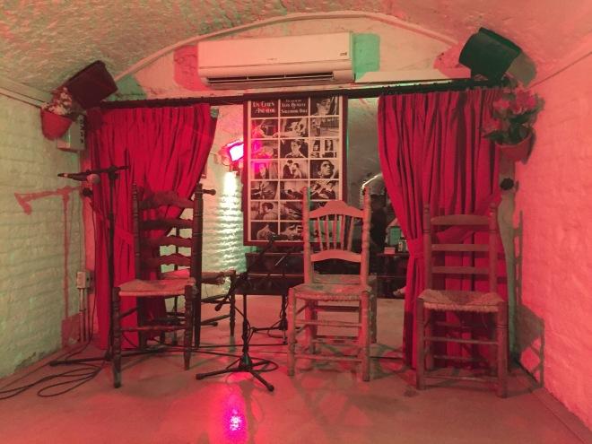Flamenco in a traditional cave in Granada